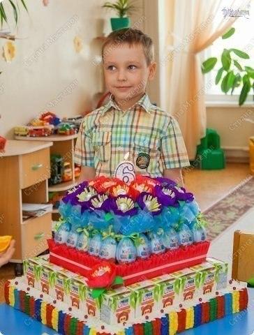 День рождения в саду своими руками