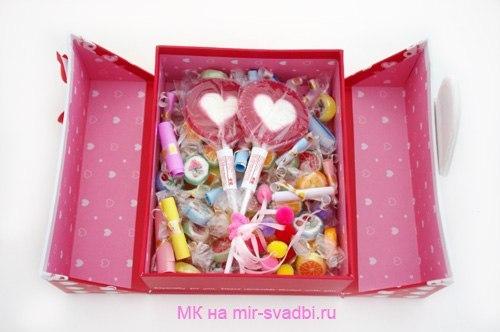 Подарок для подруги своими руками коробка с сюрпризом