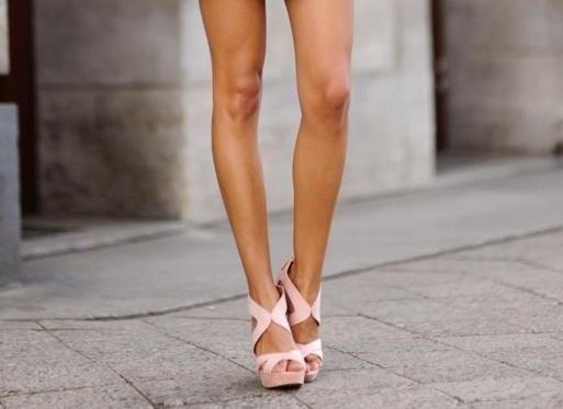 Женские ножки коленки