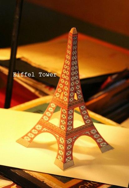 Сделай сам своими руками эйфелева башня