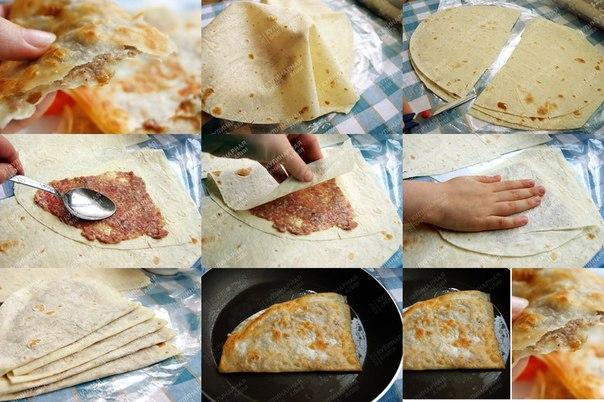 С чем можно приготовить лаваш рецепт пошагово