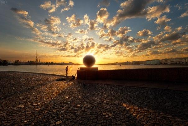 Ловец солнца. Санкт-Петербург. Автор фото – Елена Гамза.