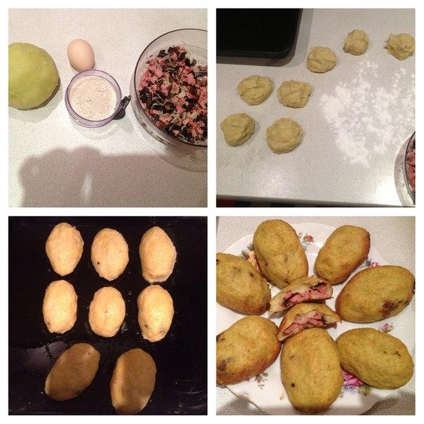 Пирожки из кабачка  от Елена Сторожева (ВК)