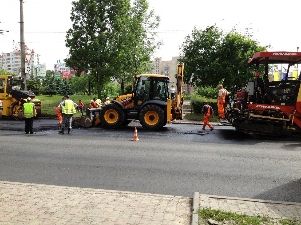 Ремонт дороги в Україні