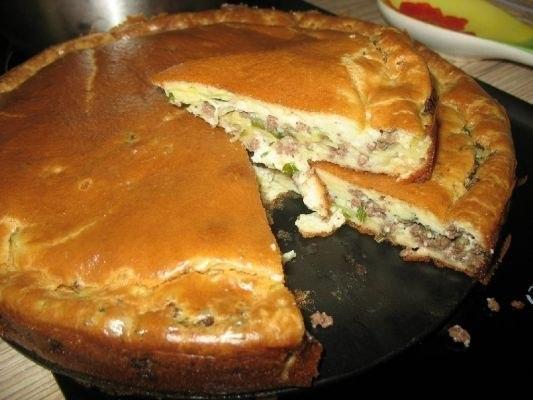 Супер нежный пирог с капустой и мясом SoXFmjkBk98