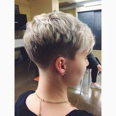 Super Short Haircuts For Older Women