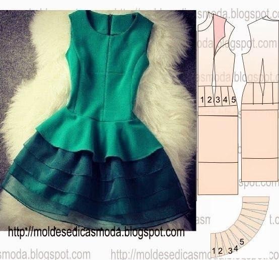 Моделируем платье (1 фото) - картинка