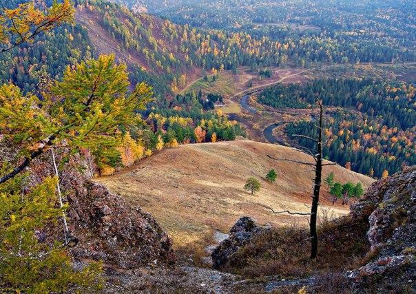 Торгашинский хребет, Красноярский край. Автор фото — Денис Давыдов