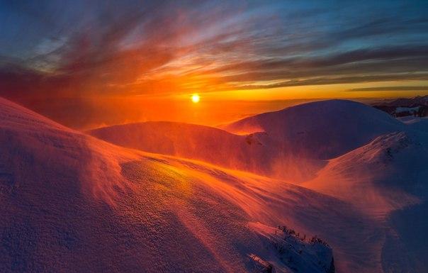 Вершина Мамдзышха, Абхазия. Фотограф — Фёдор Лашков