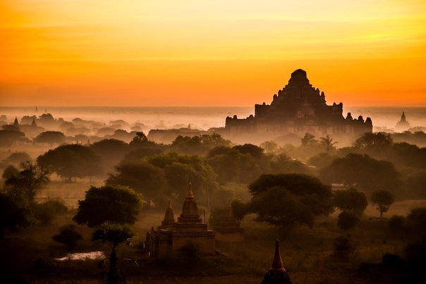 «Пробуждение». Город Паган, Мьянма. Автор фото — Inese Stoner