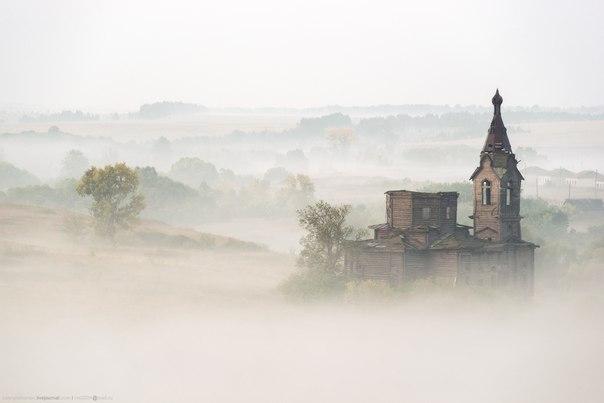 Село Старая Ерыкла, Ульяновская область. Автор фото — Валерий Романов: nat-geo.ru/photo/user/47661/