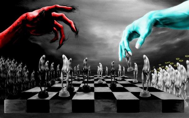 в дьявол карты бог и на играют