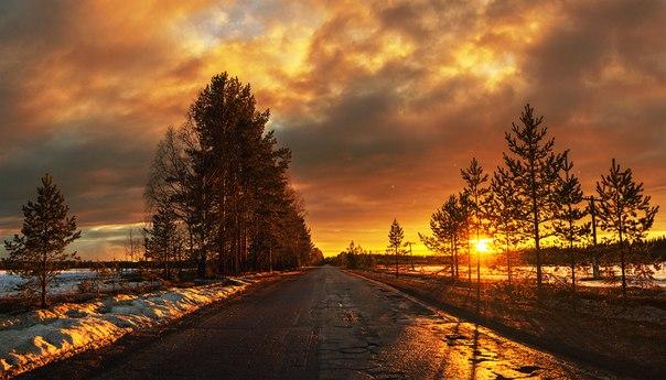Посёлок городского типа Кулой, Архангельская область. Автор фото: Виталий Истомин.