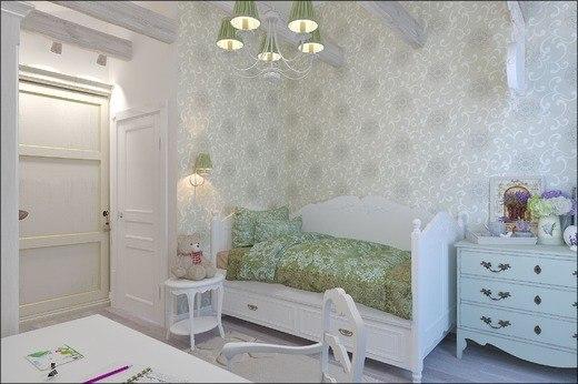 Детская комната в стиле прованс (8 фото) - картинка