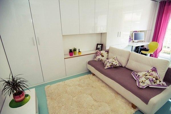 Малогабаритная однокомнатная квартира 26 кв.м…. (5 фото) - картинка