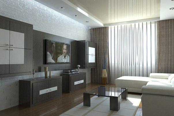 Дизайны гостиной 18 м2