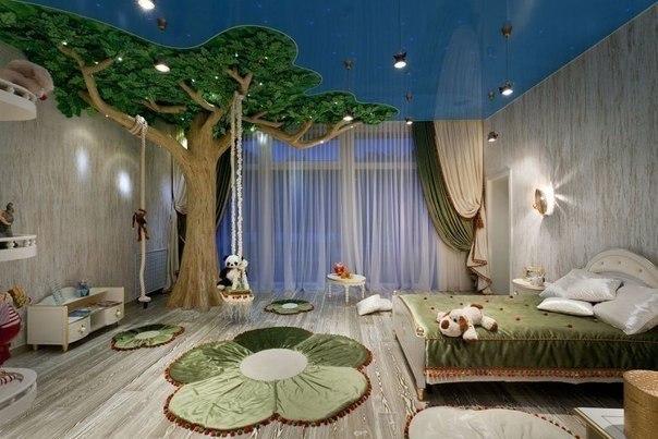 Сказочная детская комната (1 фото) - картинка