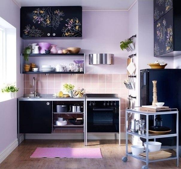Простая, но стильная кухня (1 фото) - картинка