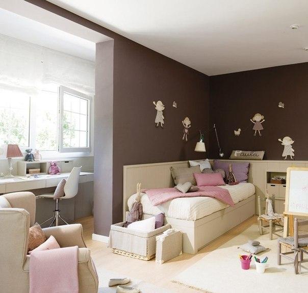 Приятная и спокойная детская комната (7 фото) - картинка