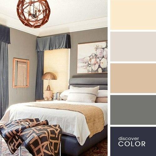 Идеальные цветовые палитры для идеального интерьера...
