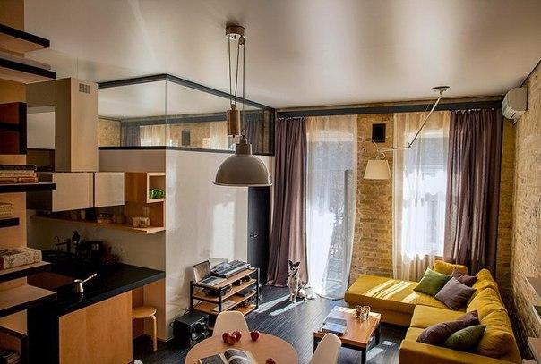 Квартира для молодой пары в Киеве. (9 фото) - картинка