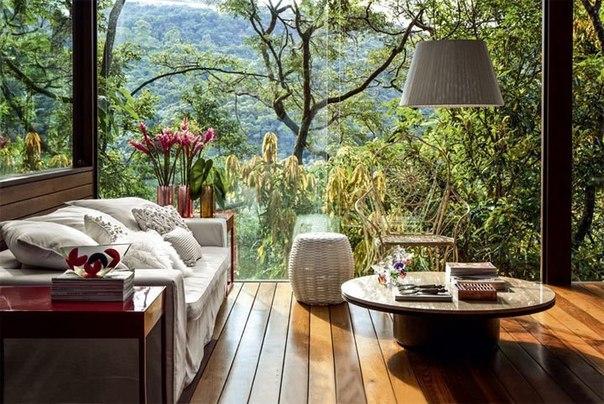 Деревянная веранда с шикарным видом (7 фото) - картинка