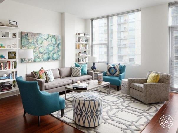 Яркая квартира в Чикаго (10 фото) - картинка
