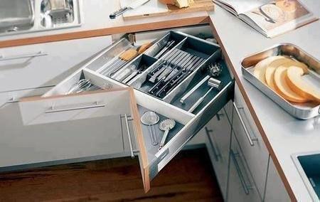 Удобный угловой шкаф. Экономим пространство!… (1 фото) - картинка