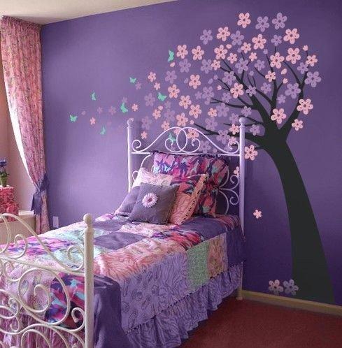 Детская спальня для нежной девочки. (1 фото) - картинка