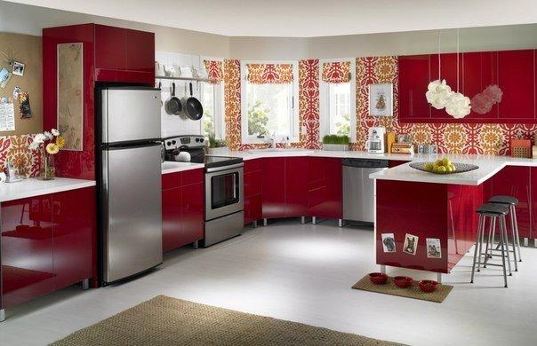 Просторная кухня (1 фото) - картинка