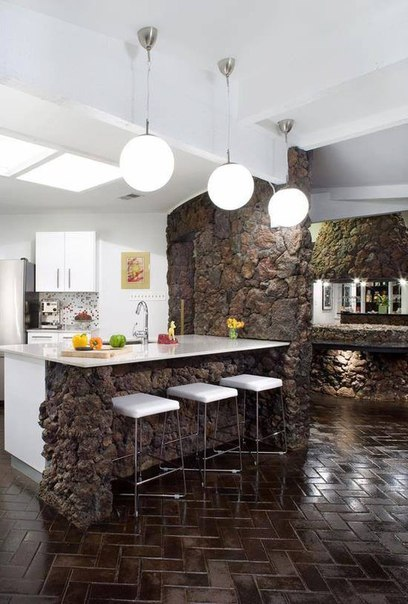 Каменная кухня (1 фото) - картинка