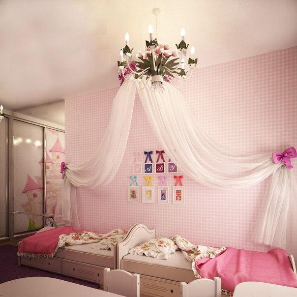 Спальня для девочки (5 фото) - картинка
