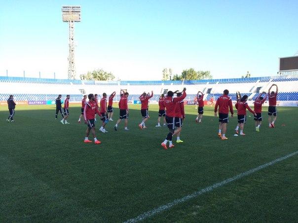 Дисквалифицированный на финал Кубка России Тарасов тренируется с командой