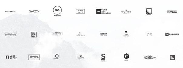 25 бесплатных шаблонов для минималистских логотипов в форматах  PSD и AI