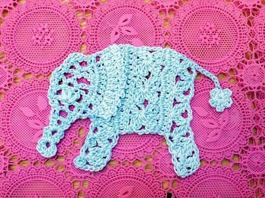 Вязание слона крючком. :).