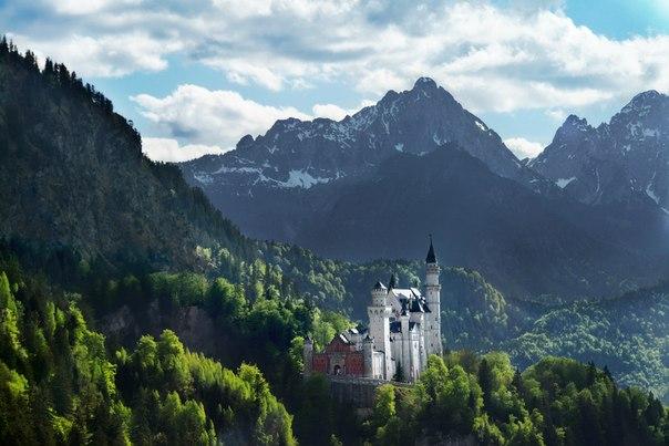 Замок Нойшванштайн, Германия. Автор фото: Влад Башкиров.