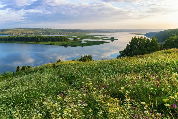 Река Сылва, Пермский край. Автор фото — Данил Фадеев