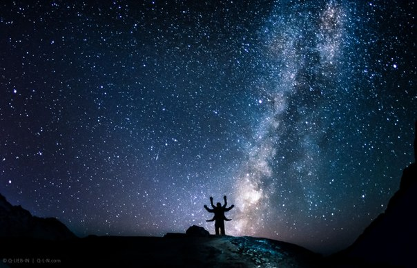 «Шива». Гималаи, Непал. Высота — 4400 метров. Автор фото — Евгений Q-Lieb In: Доброй ночи и хороших выходных!