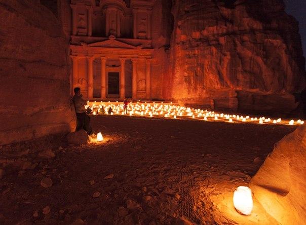 Петра, Иордания. Автор фото — Дарья Шляхова: Спокойной ночи!