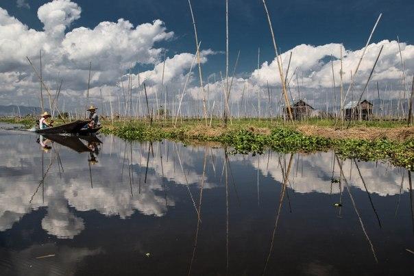 Озеро Инле, Мьянма. Автор фото — Inese Stoner