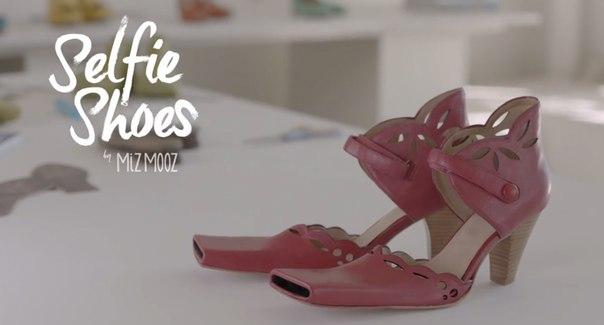 Селфи-обувь📱👠 Американский бренд Miz Mooz представил новые оригинальные женские туфли, с помощью которых можно снимать селфи. Обувь на каблуке, получившая название Selfie Shoes («Селфи-туфли») будет удобнее популярной селфи-палки —обещаютпредставители компании. Туфли для самофотографирования имеют открытый носик, куда необходимо вставить камеру. После этого обладательницам обуви предстоит поднять ногу и нажать пальцем на специальную клавишу внутри туфли, которая активирует камеру. Стоимость…