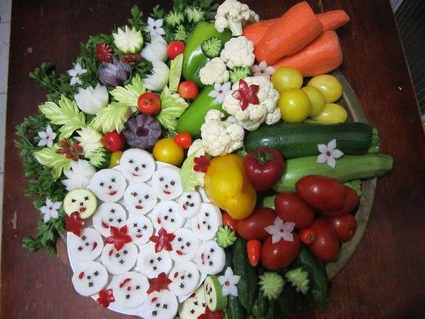 Украшение и необычные способы подачи блюд,салатов,выпечки и бутербродов . F1DGvUVd76c