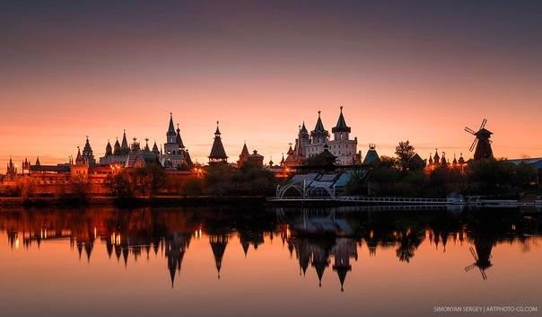 Измайловский кремль. Москва. Автор фото: Сергей Симонян.