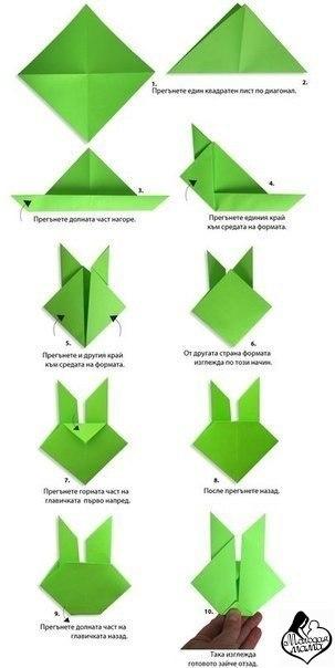простые фигуры оригами для детей