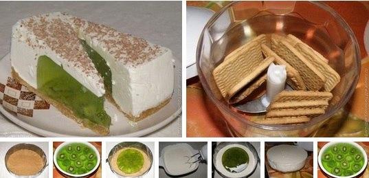 Желейный торт без выпечки рецепты с фото