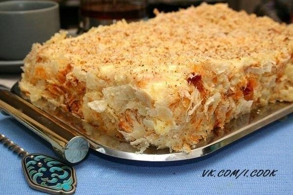 Как испечь торт наполеон с пошаговыми фото
