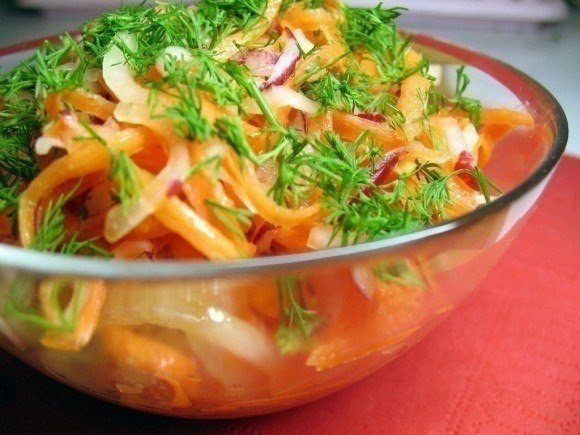 Диетический салат (1 фото) - картинка