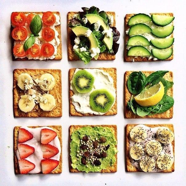 С чем есть тосты правильное питание