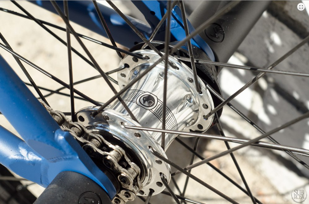 shadow rear hub
