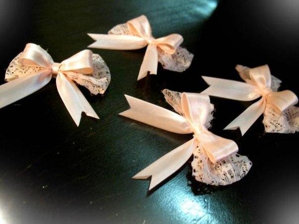 Цветки на свадьбу для гостей своими руками